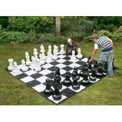 Giant Chess Set + 3x3 meter Canvas