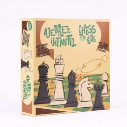 PAINTABLE CHILDREN'S CHESS