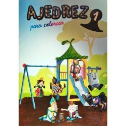 CUADERNILLO DE AJEDREZ PARA COLOREAR 1