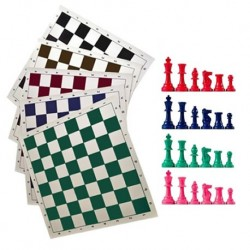 Rolling Chess Set in Colors