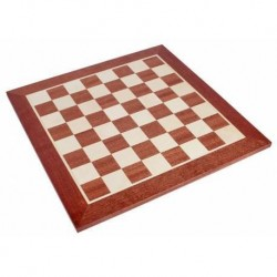 MAHOGANY CHESS BOARD 50MM
