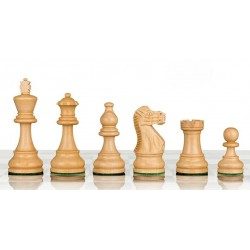 American Staunton 6 Wood Chess Pieces