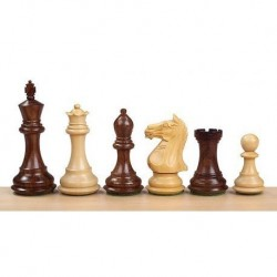 Wood Chess Pieces Staunton 6 Classic model