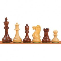 Staunton 6 Executive Acacia Wood Chess Pieces