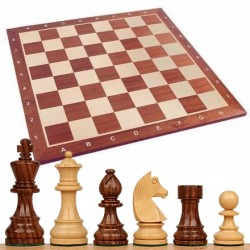 Basic Wood Chess Set