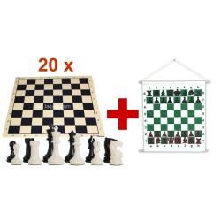 Basic School Chess Set