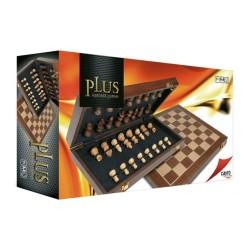 Luxury Folding Wooden Chess Set 30cm