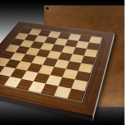 Wooden Chess Board model AQUAMARINE