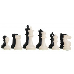 Plastic Chess Pieces Staunton 5/6 College
