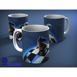 World Chess Model Mug