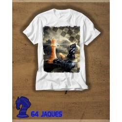 Camiseta Ajedrez Rey Caido