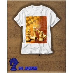 Pieces Composition Chess T-shirt