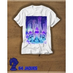 Purple Crystal Chess T-shirt