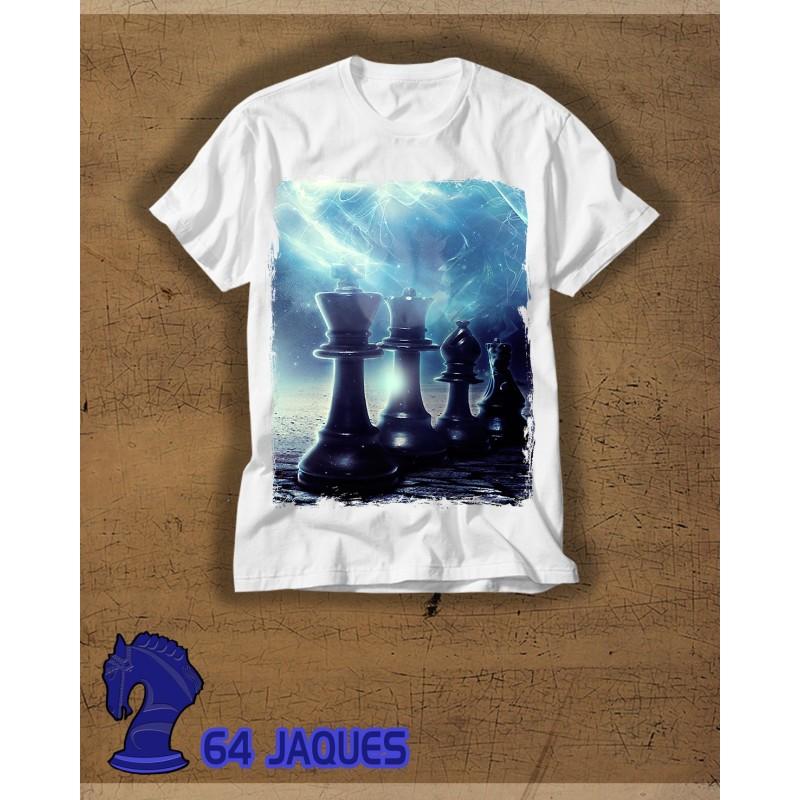 Camiseta de Ajedrez Noche y Estela
