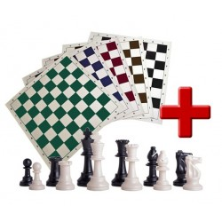 School Rolling Chess Set